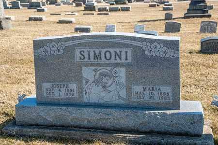 SIMONI, MARIA - Richland County, Ohio | MARIA SIMONI - Ohio Gravestone Photos