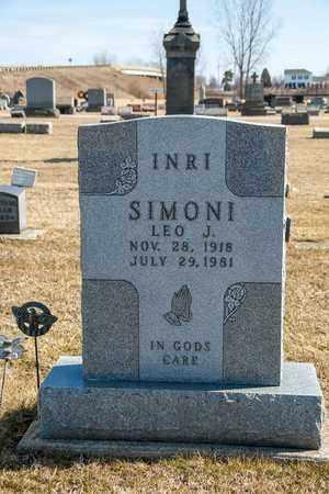 SIMONI, LEO J - Richland County, Ohio | LEO J SIMONI - Ohio Gravestone Photos
