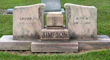 SIMPSON, RUTH M - Richland County, Ohio | RUTH M SIMPSON - Ohio Gravestone Photos
