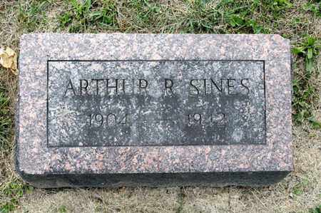 SINES, ARTHUR R - Richland County, Ohio | ARTHUR R SINES - Ohio Gravestone Photos