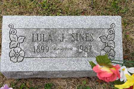 SINES, LULA J - Richland County, Ohio | LULA J SINES - Ohio Gravestone Photos