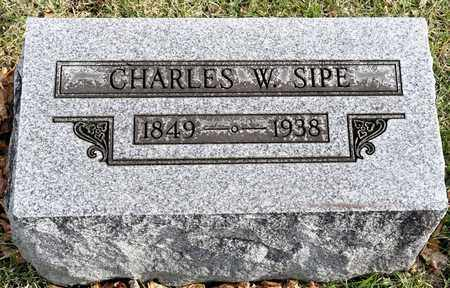 SIPE, CHARLES W - Richland County, Ohio | CHARLES W SIPE - Ohio Gravestone Photos