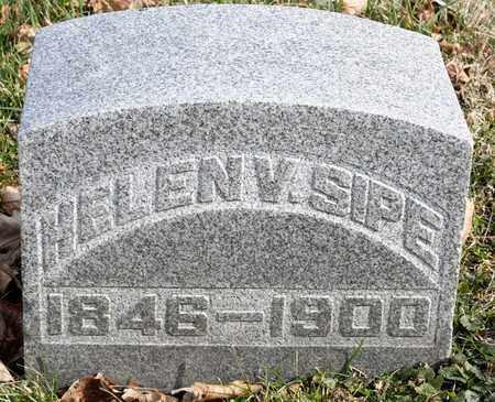 SIPE, HELEN V - Richland County, Ohio | HELEN V SIPE - Ohio Gravestone Photos