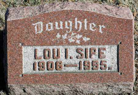 SIPE, LOU I - Richland County, Ohio | LOU I SIPE - Ohio Gravestone Photos
