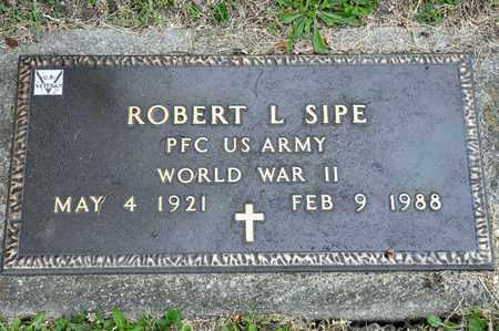 SIPE, ROBERT L - Richland County, Ohio | ROBERT L SIPE - Ohio Gravestone Photos