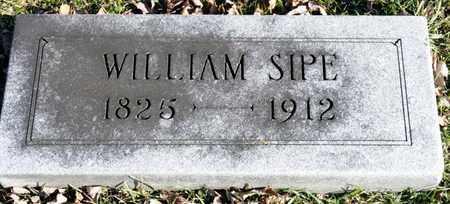 SIPE, WILLIAM - Richland County, Ohio | WILLIAM SIPE - Ohio Gravestone Photos
