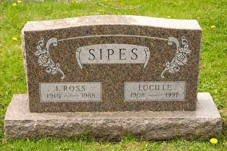 SIPES, I ROSS - Richland County, Ohio | I ROSS SIPES - Ohio Gravestone Photos
