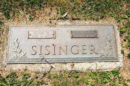SISINGER, HUGH H - Richland County, Ohio | HUGH H SISINGER - Ohio Gravestone Photos
