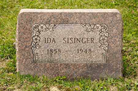 SISINGER, IDA - Richland County, Ohio | IDA SISINGER - Ohio Gravestone Photos