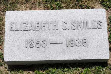 SKILES, ELIZABETH C - Richland County, Ohio | ELIZABETH C SKILES - Ohio Gravestone Photos