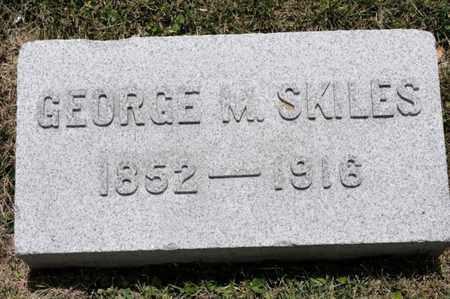 SKILES, GEORGE M - Richland County, Ohio | GEORGE M SKILES - Ohio Gravestone Photos
