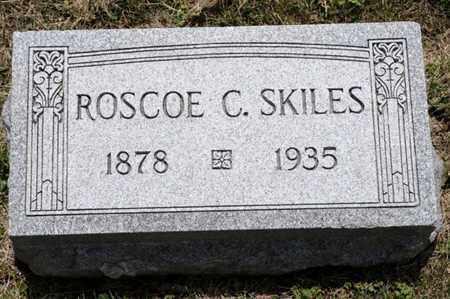 SKILES, ROSCOE C - Richland County, Ohio | ROSCOE C SKILES - Ohio Gravestone Photos