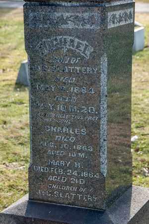 SLATTERY, CHARLES - Richland County, Ohio | CHARLES SLATTERY - Ohio Gravestone Photos