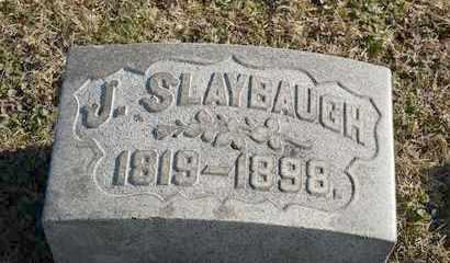 SLAYBAUGH, J - Richland County, Ohio | J SLAYBAUGH - Ohio Gravestone Photos