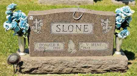 SLONE, DONALD R - Richland County, Ohio | DONALD R SLONE - Ohio Gravestone Photos