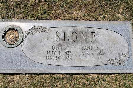 SLONE, ONIS - Richland County, Ohio | ONIS SLONE - Ohio Gravestone Photos