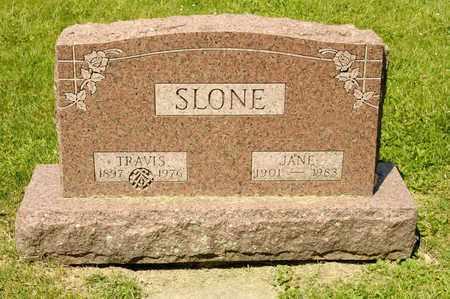 SLONE, JANE - Richland County, Ohio | JANE SLONE - Ohio Gravestone Photos