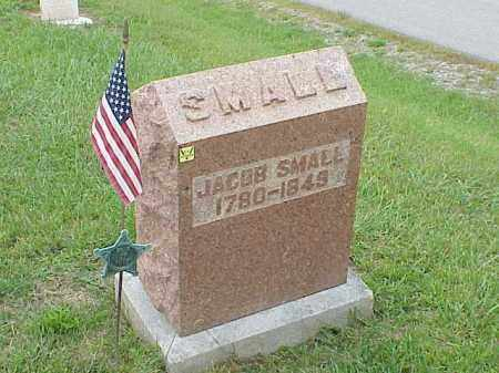 SMALL, JACOB - Richland County, Ohio | JACOB SMALL - Ohio Gravestone Photos