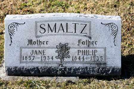 SMALTZ, PHILIP - Richland County, Ohio | PHILIP SMALTZ - Ohio Gravestone Photos