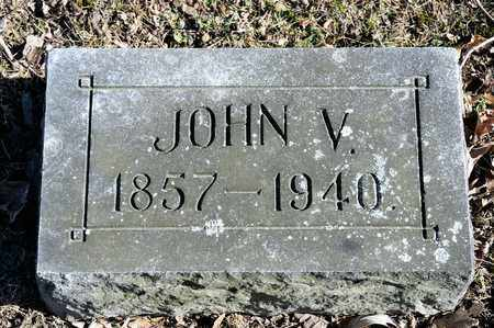 SMALTZ, JOHN V - Richland County, Ohio | JOHN V SMALTZ - Ohio Gravestone Photos