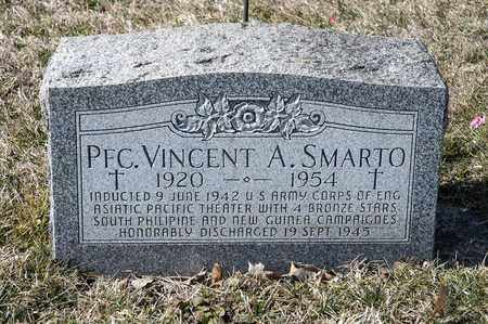 SMARTO, VINCENT A - Richland County, Ohio | VINCENT A SMARTO - Ohio Gravestone Photos
