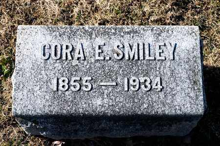 SMILEY, CORA E - Richland County, Ohio | CORA E SMILEY - Ohio Gravestone Photos