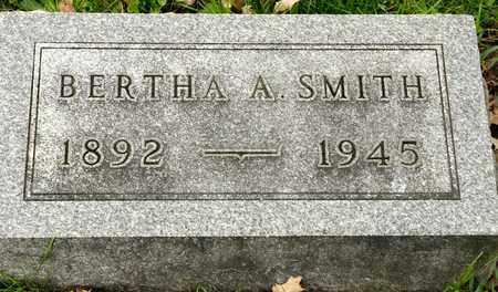SMITH, BERTHA A - Richland County, Ohio | BERTHA A SMITH - Ohio Gravestone Photos