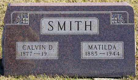 SMITH, CALVIN D - Richland County, Ohio | CALVIN D SMITH - Ohio Gravestone Photos