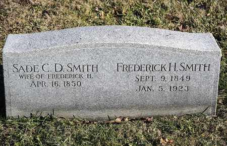 SMITH, FREDERICK H - Richland County, Ohio | FREDERICK H SMITH - Ohio Gravestone Photos