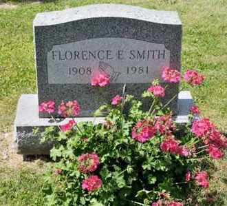 SMITH, FLORENCE E - Richland County, Ohio | FLORENCE E SMITH - Ohio Gravestone Photos