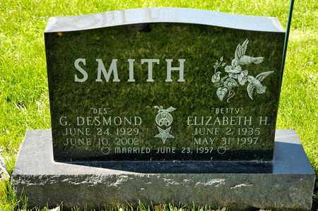 SMITH, G DESMOND - Richland County, Ohio | G DESMOND SMITH - Ohio Gravestone Photos