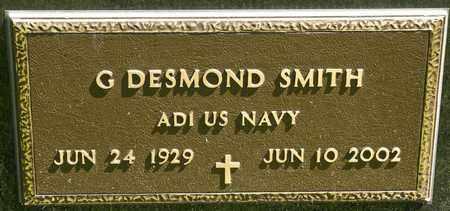 SMITH, G DESMOND - Richland County, Ohio | G DESMOND SMITH - Ohio Gravestone Photos