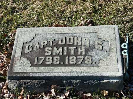 SMITH, JOHN G - Richland County, Ohio | JOHN G SMITH - Ohio Gravestone Photos