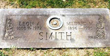 SMITH, LEON A - Richland County, Ohio | LEON A SMITH - Ohio Gravestone Photos