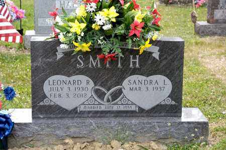 SMITH, LEONARD R - Richland County, Ohio | LEONARD R SMITH - Ohio Gravestone Photos