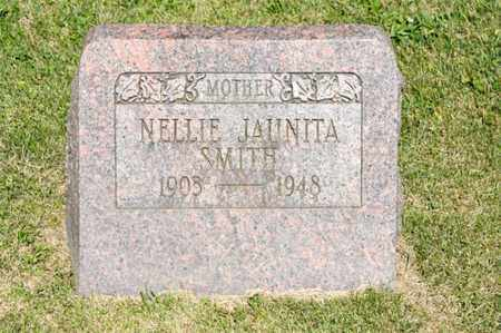 SMITH, NELLIE JAUNITA - Richland County, Ohio | NELLIE JAUNITA SMITH - Ohio Gravestone Photos