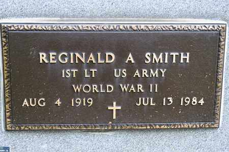 SMITH, REGINALD A - Richland County, Ohio | REGINALD A SMITH - Ohio Gravestone Photos