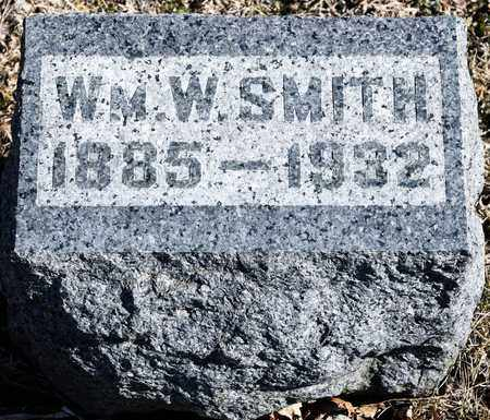 SMITH, WILLIAM W - Richland County, Ohio | WILLIAM W SMITH - Ohio Gravestone Photos