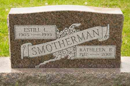 SMOTHERMAN, KATHLEEN B - Richland County, Ohio | KATHLEEN B SMOTHERMAN - Ohio Gravestone Photos