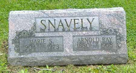 SNAVELY, ARNOLD RAY - Richland County, Ohio | ARNOLD RAY SNAVELY - Ohio Gravestone Photos