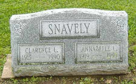 SNAVELY, ANNABELLE L. - Richland County, Ohio | ANNABELLE L. SNAVELY - Ohio Gravestone Photos