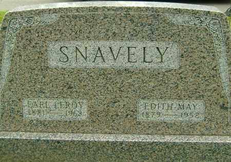 SNAVELY, EARL LEROY - Richland County, Ohio | EARL LEROY SNAVELY - Ohio Gravestone Photos