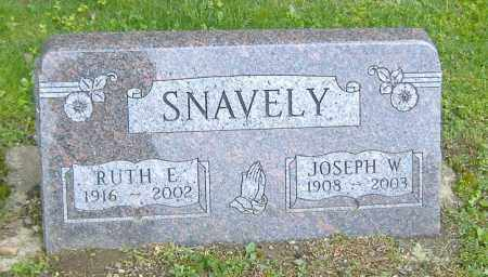 SNAVELY, RUTH ELAINE - Richland County, Ohio | RUTH ELAINE SNAVELY - Ohio Gravestone Photos