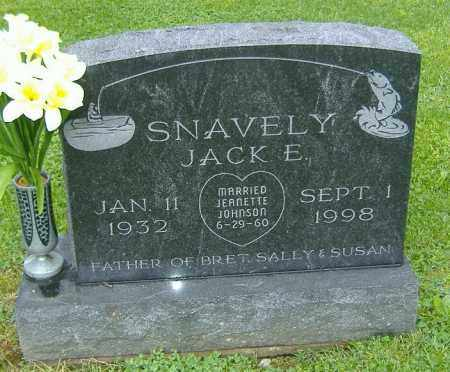SNAVELY, JACK E. - Richland County, Ohio | JACK E. SNAVELY - Ohio Gravestone Photos