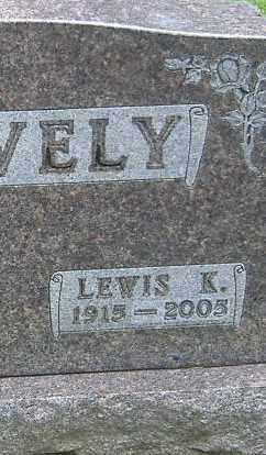 SNAVELY, LEWIS K. - Richland County, Ohio | LEWIS K. SNAVELY - Ohio Gravestone Photos
