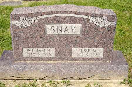 SNAY, WILLIAM H - Richland County, Ohio | WILLIAM H SNAY - Ohio Gravestone Photos
