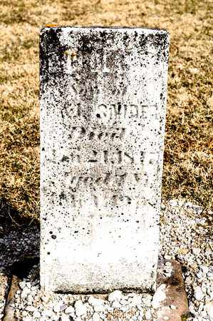 SNIDER, SON - Richland County, Ohio | SON SNIDER - Ohio Gravestone Photos