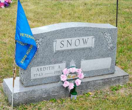 SNOW, ARDITH A - Richland County, Ohio | ARDITH A SNOW - Ohio Gravestone Photos