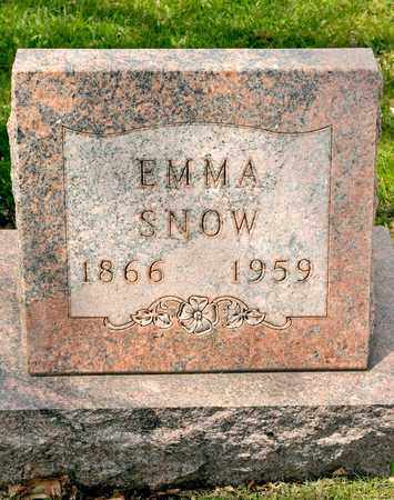 SNOW, EMMA - Richland County, Ohio | EMMA SNOW - Ohio Gravestone Photos