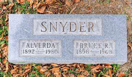 SNYDER, BRUCE R - Richland County, Ohio | BRUCE R SNYDER - Ohio Gravestone Photos